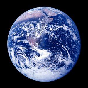 「月より見る地球」