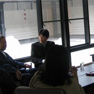 「萩原知章さんと対談」