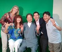 2013.7.9 晃一さんジャネットさん一行2s-
