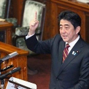 「安倍首相 所信表明」