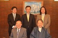 渋沢様、守屋様、渋澤様、健さんs-