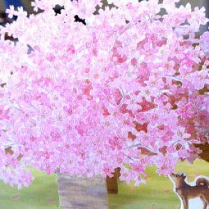 「花は 花は 花は咲く」2